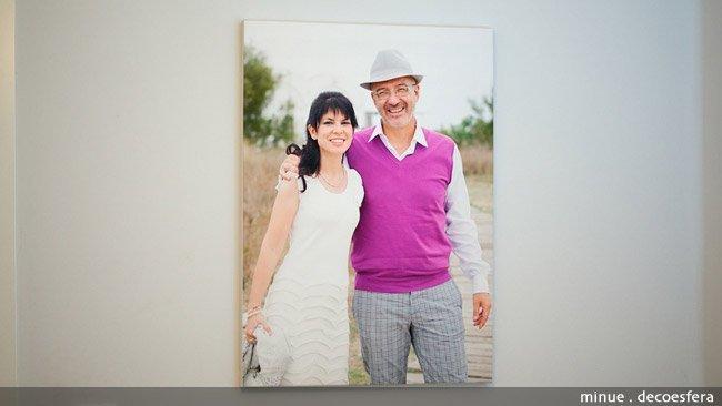 Convertir fotos en cuadros - el cuadro