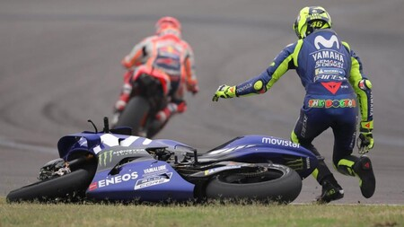 Rossi Marquez Argentina Motogp 2018