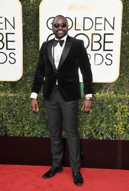 Brian Tyree Henry Golden Globe Awards Red Carpet 2017