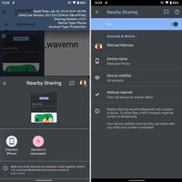 "Nearby Sharing, el ""AirDrop de Android"", sería compatible con Windows, Mac, Linux y Chrome OS"