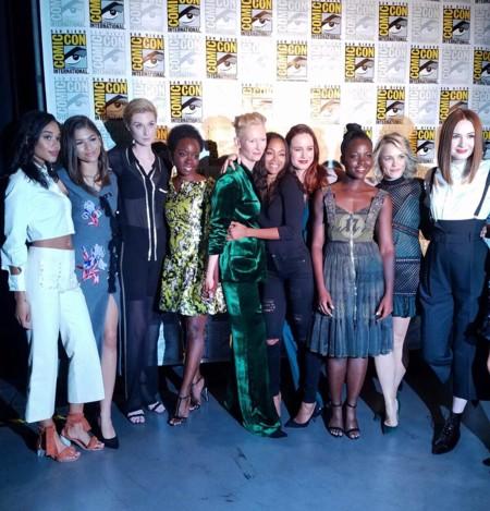 Las mujeres de Marvel en la Comic-Con