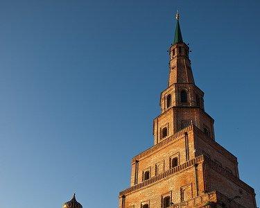 La Torre Siuyumbike, en el Kremlin de Kazan