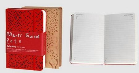 Agenda Moleskine, diseño de Martí Guixé