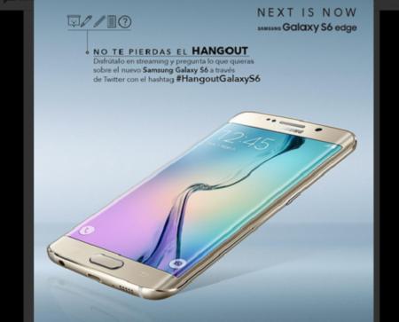 Pregunta lo que quieras sobre el Samsung Galaxy 6 en el #HangoutGalaxyS6