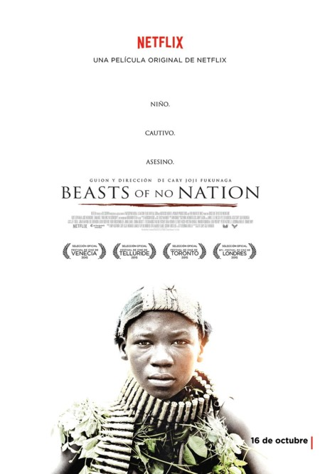 Cartel de Beasts Of No Nation