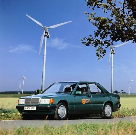 Mercedes 190 E Elektro 8