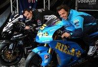 Suzuki celebró sus 50 años en la competición en el TT de la Isla de Man