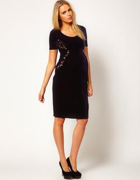 b0fbf0e51 Moda embarazadas  10 vestidos ideales para lucir embarazo