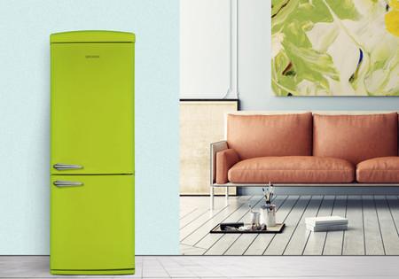 ¿Te gusta lo retro? Estos frigoríficos de Becken son una alternativa para dar un toque vintage en la cocina