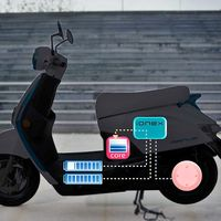 Kymco Ionex: un ecosistema de baterías intercambiables para 10 nuevos scooter eléctricos en 3 años