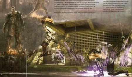'Mortal Kombat'. Primeras imágenes de Kratos en acción