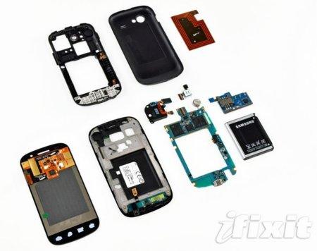 La pantalla del Nexus S no es curvada, lo es su cristal