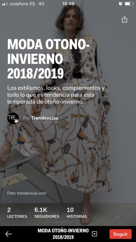 flipboard trendencias moda otoño invierno 2018 2019