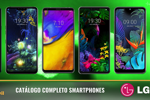 LG V50 y LG G8 ThinQ, así encajan dentro del catálogo completo de smartphones LG en 2019