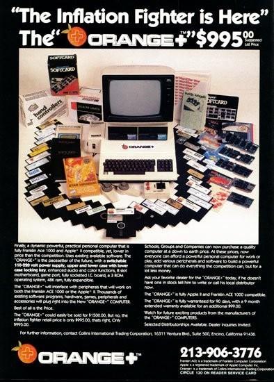 Anuncios de ordenadores de los 80