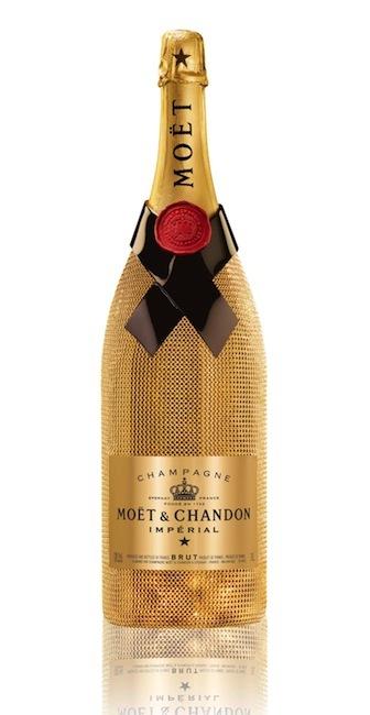 Moët & Chandon Golden Lace Jeroboam, disponible bajo pedido