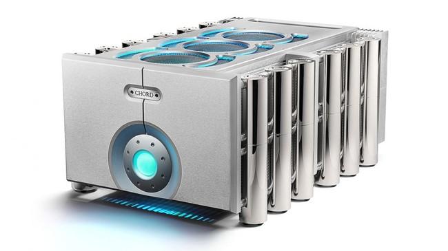 Estas cajas futuristas esconden el último preamplificador y amplificador de Chord Electronics