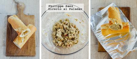 Canapes Baguette Atun Receta