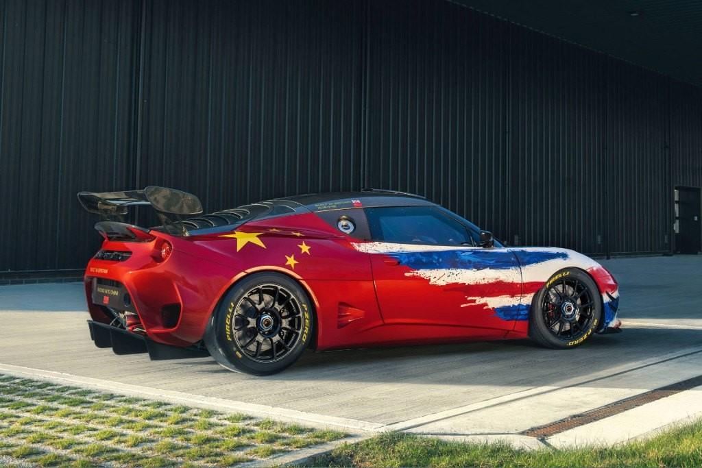 Foto de Lotus Evora GT4 Concept (1/10)