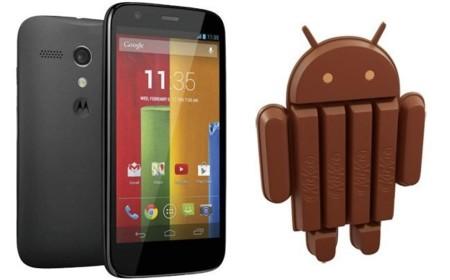 Moto G recibe su ración de Android KitKat antes de lo esperado