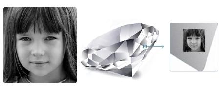 Gemory: tus fotos en los diamantes