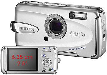 Pentax Optio A30 y W30