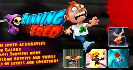 Running Fred, corre por tu vida mientras saltas y sorteas todo tipo de trampas