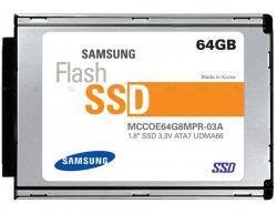 Samsung comienza la producción en masa de SSD de 64 GB