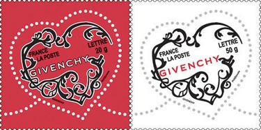 Givenchy ya tiene sello de correos