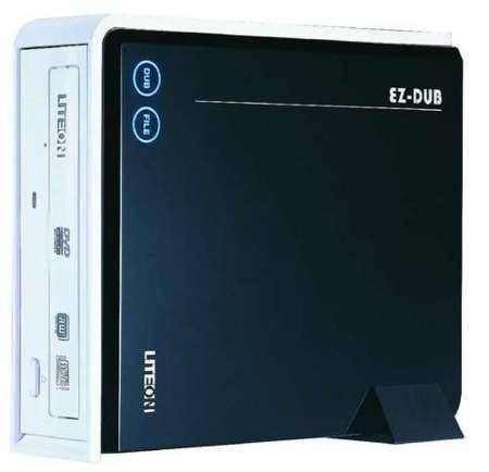 LiteOn EZDUB DX-20A4PU, grabadora de DVD externa