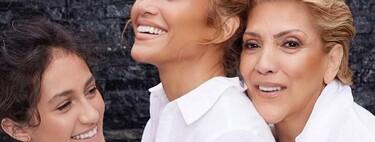 Jennifer Lopez y su hija Emme lucen el mismo pelo rizado y con flequillo para celebrar el Día de la Madre en USA
