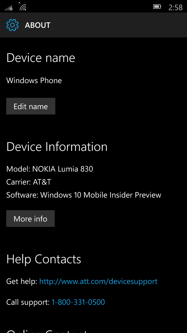 Foto de Windows 10 Mobile build 10136 (21/92)