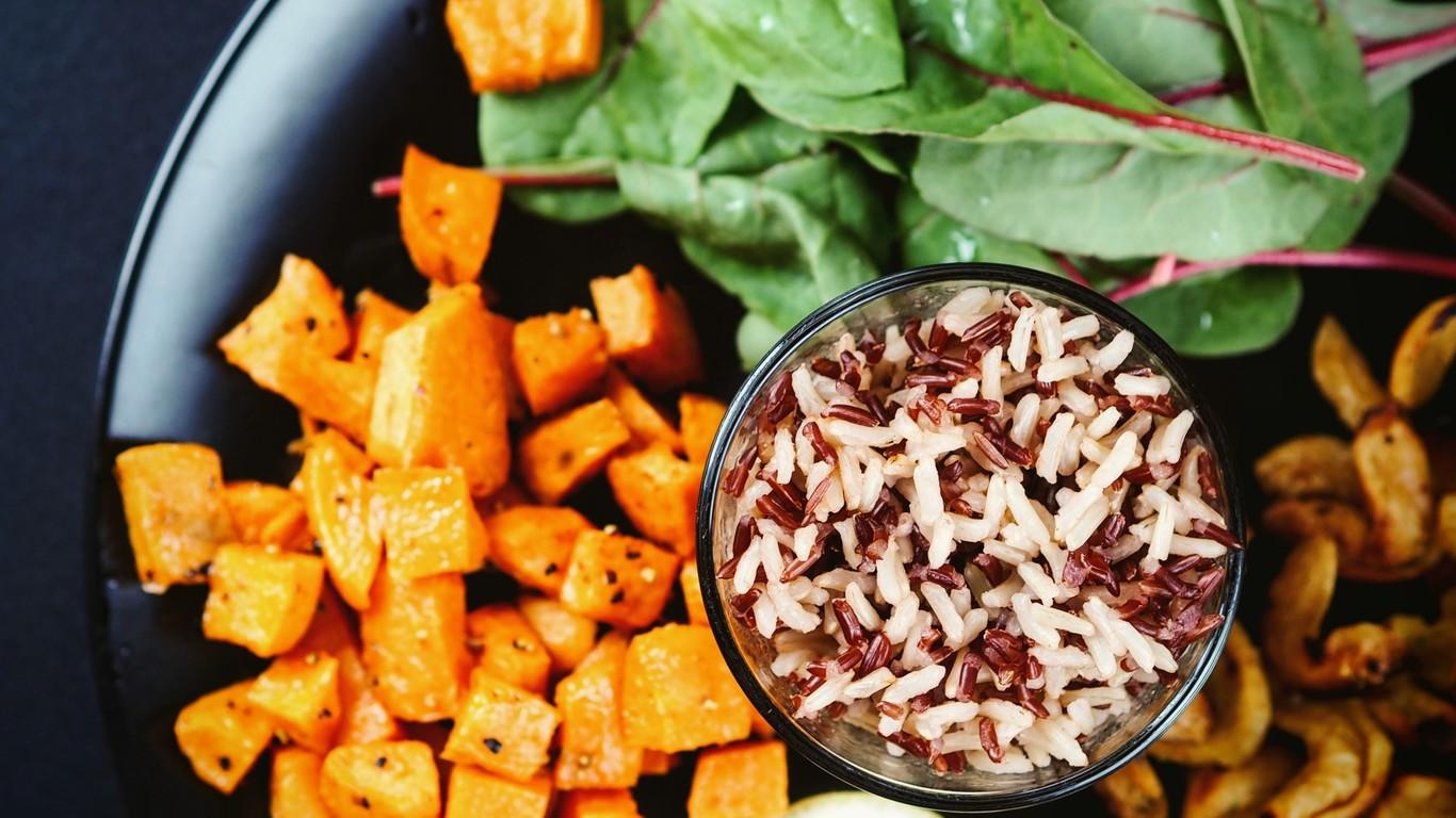 Cuadro de dieta equilibrada india para bajar de peso