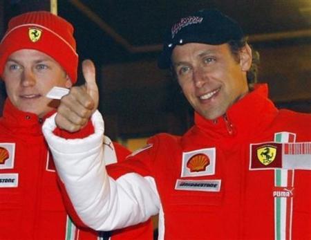 Luca Badoer sustituto de Felipe Massa en Valencia