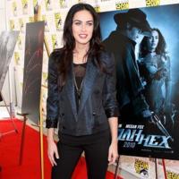 Megan Fox y otras actrices en la convención Comic Con