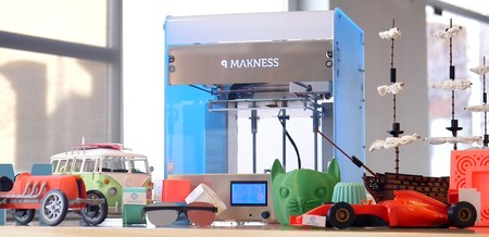 Algunos objetos impresos con la MK-1
