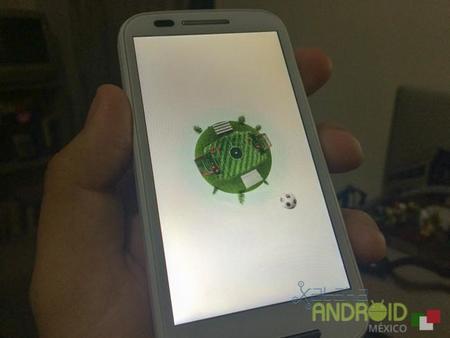 Motorola actualiza a la fiebre del mundial su animación de entrada