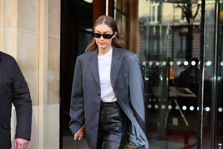 Gigi Hadid podría ser la Emmanuelle Alt del momento con este look que nos recuerda a la edad dorada del street style