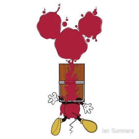Las camisetas más divertidas de la década. Mickey