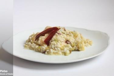 Receta de risotto con alcachofas y jamón de pato