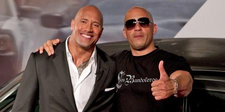 Dwayne Johnson Vin Diesel
