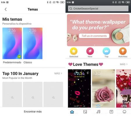 App Temas Xiaomi