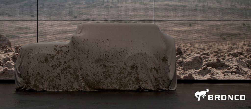 Ford Bronco 2020 teaser