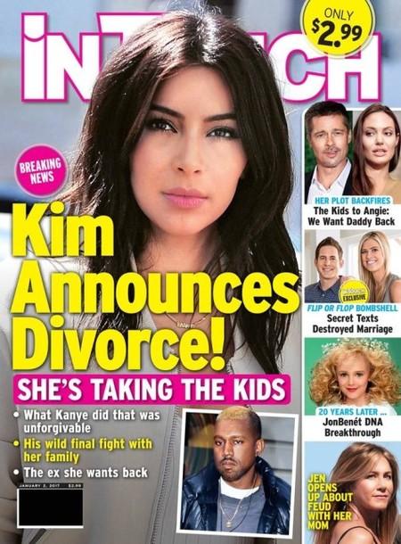 El divorcio de Kim, dicen, cuentan