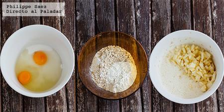 Muffins Avena Manzana