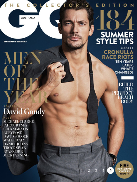 David Gandy Gq Australia December 2015 Cover 001