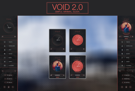 Void 2 0 For Rainmeter By Kumarjitdey D9kixyh
