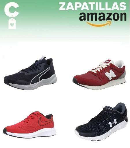 Chollos en tallas sueltas de zapatillas Puma, Nike, New Balance o Under Armour por menos de 40 euros en Amazon