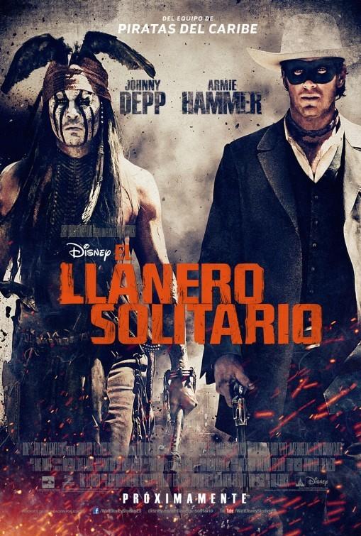 'El Llanero Solitario', carteles