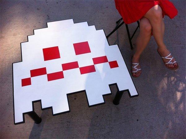 Mesa fantasmas Pacman